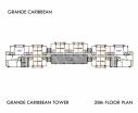 Grande Caribbean Condo - 楼层平面图 bld Cruze - 9