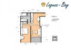 Laguna Bay 1 - 房间平面图 - 1