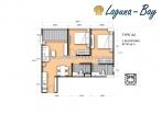 Laguna Bay 1 - 房间平面图 - 2