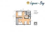Laguna Bay 1 - 房间平面图 - 3