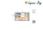 Laguna Bay 1 - 房间平面图 - 5