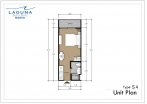 Laguna Beach Resort 3 Maldives - unit plans - type S - 1