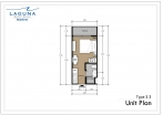 Laguna Beach Resort 3 Maldives - unit plans - type S - 2