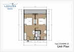 Laguna Beach Resort 3 Maldives - unit plans - type S - 5