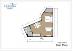 Laguna Beach Resort 3 Maldives - unit plans - type E - 2