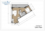 Laguna Beach Resort 3 Maldives - unit plans - type E - 5