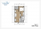 Laguna Beach Resort 3 Maldives - unit plans - type A - 1