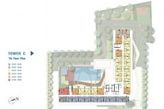 Lumpini Ville Naklua Wongamat - 楼层平面图 - 11