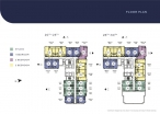 Once Pattaya - floor plans - 2