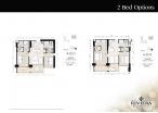 Riviera Wongamat Beach - 房间平面图 - South Tower - 2