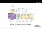Riviera Monaco Condo - floor plans - 12