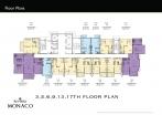 Riviera Monaco Condo - floor plans - 2