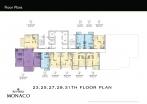 Riviera Monaco Condo - floor plans - 9