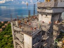 Riviera Monaco Condo - 2019-10 construction site - 2