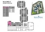 Seven Seas Condo Jomtien - 楼层平面图 - buildings A B C D - 1