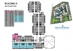 Seven Seas Condo Jomtien - 楼层平面图 - buildings A B C D - 2
