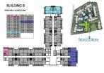 Seven Seas Condo Jomtien - 楼层平面图 - buildings A B C D - 4