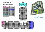 Seven Seas Condo Jomtien - 楼层平面图 - buildings A B C D - 5