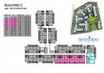 Seven Seas Condo Jomtien - 楼层平面图 - buildings A B C D - 7