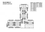 Seven Seas Condo Jomtien - 楼层平面图 - buildings E F G H - 1