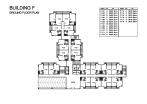Seven Seas Condo Jomtien - 楼层平面图 - buildings E F G H - 3