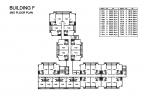 Seven Seas Condo Jomtien - 楼层平面图 - buildings E F G H - 4