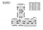 Seven Seas Condo Jomtien - 楼层平面图 - buildings E F G H - 6