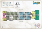 Seven Seas Le Carnival Pattaya - building B  Brasilia - floor plans (28 floors) - 4