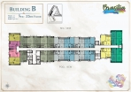 Seven Seas Le Carnival Pattaya - building B  Brasilia - floor plans (28 floors) - 5