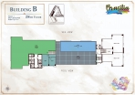 Seven Seas Le Carnival Pattaya - building B  Brasilia - floor plans (28 floors) - 8