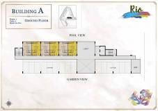 Seven Seas Le Carnival Pattaya - building A  Rio - floor plans (8 floors) - 2