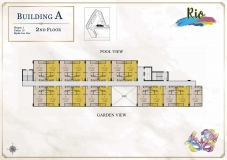 Seven Seas Le Carnival Pattaya - building A  Rio - floor plans (8 floors) - 3