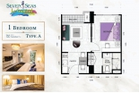 Seven Seas Le Carnival Pattaya - unit plans - 3