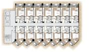 Palm Wongamat - 楼层平面图 - 4