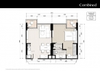 Riviera Jomtien - floor plans - 1