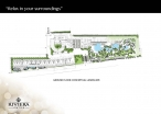 Riviera Jomtien - masterplan, parking - 1