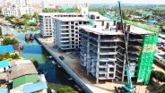 Whale Marina Condo - 2018-03 construction site - 3
