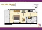 Wongamat Tower - 房间平面图 - 8