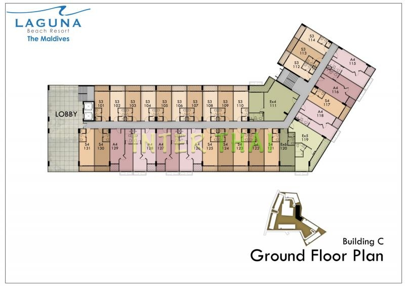 Laguna Beach Resort 3 Maldives Floor Plans Buildings A
