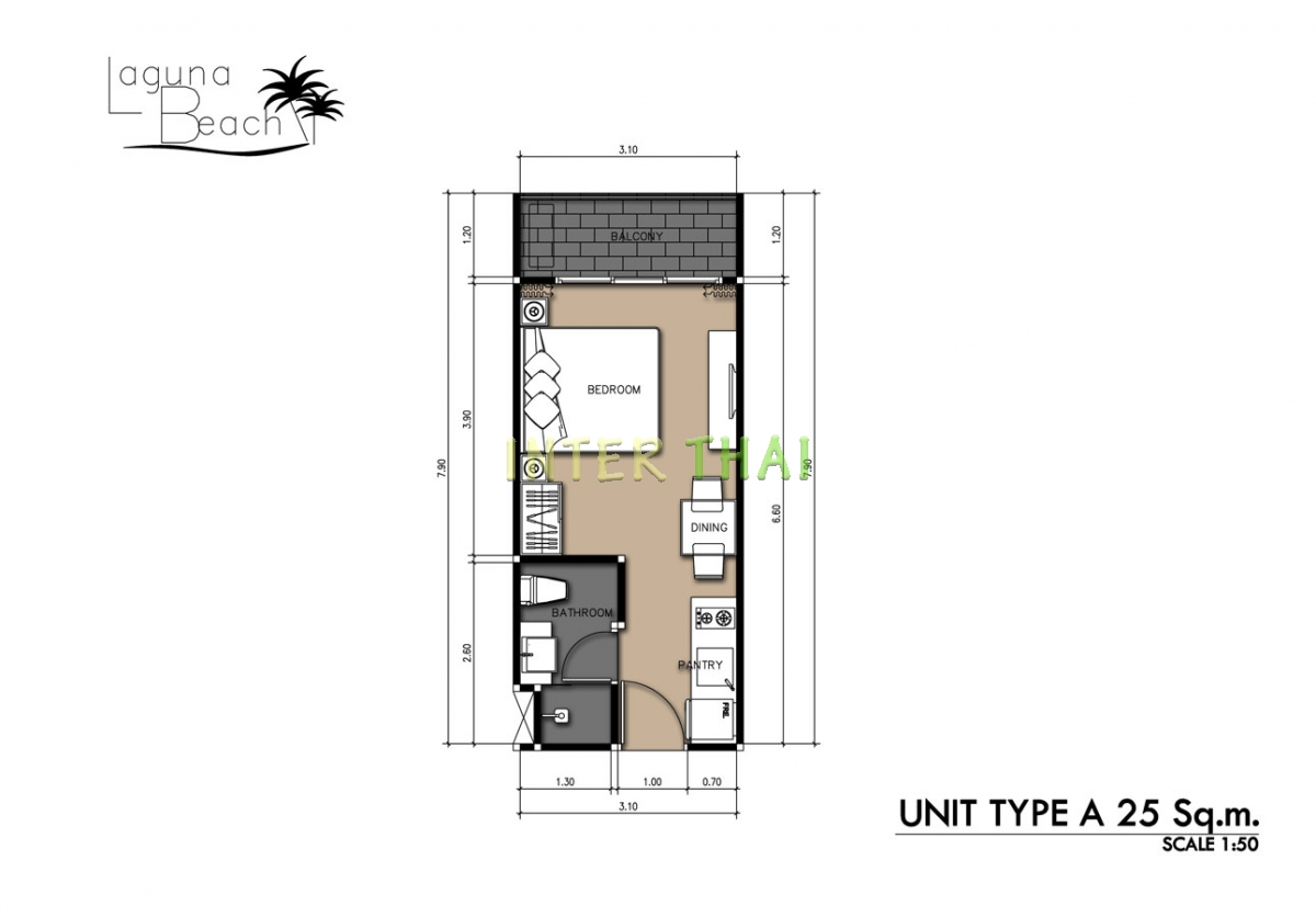 Laguna beach 2 condo unit plans 17 for 4 unit condo plans