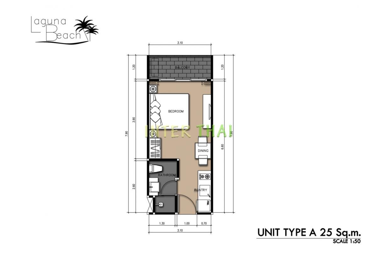 Laguna beach 2 condo unit plans 17 for 4 unit condo plans