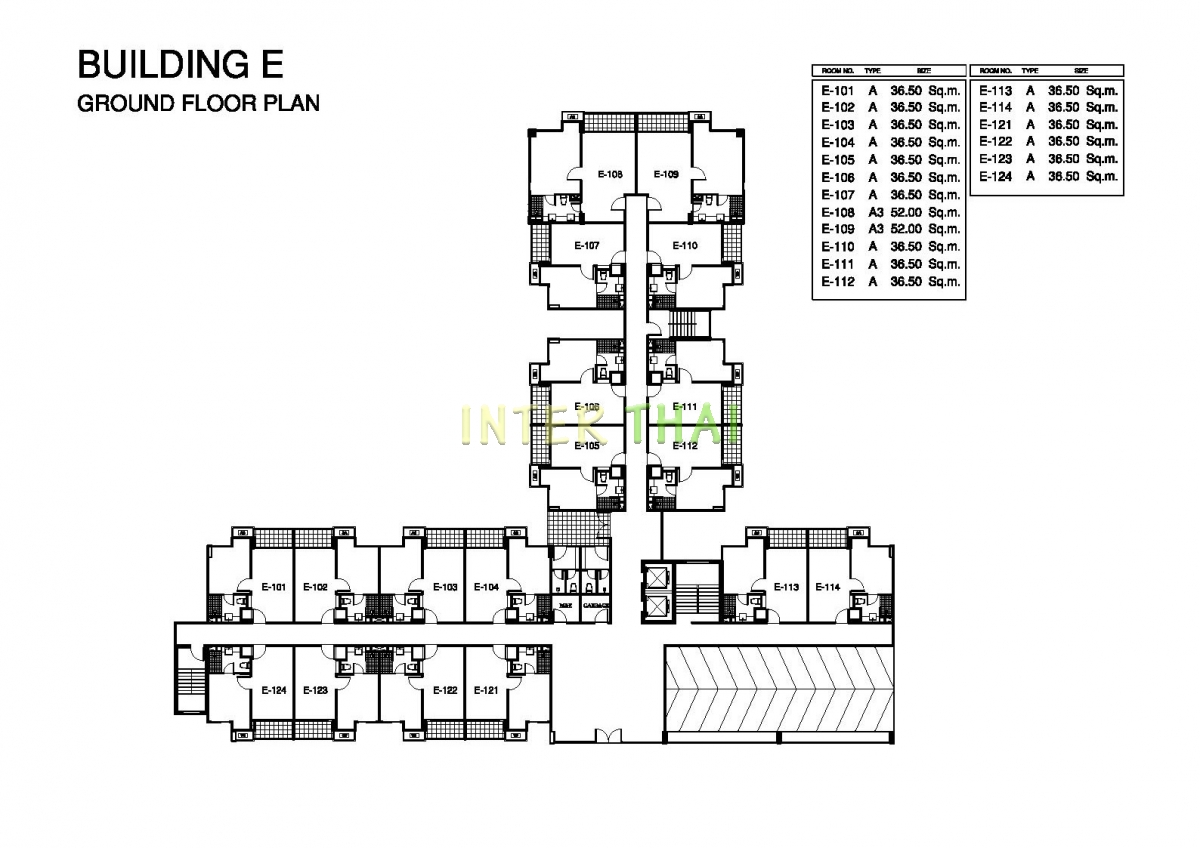 Seven Seas Condo Jomtien - Floor Plans