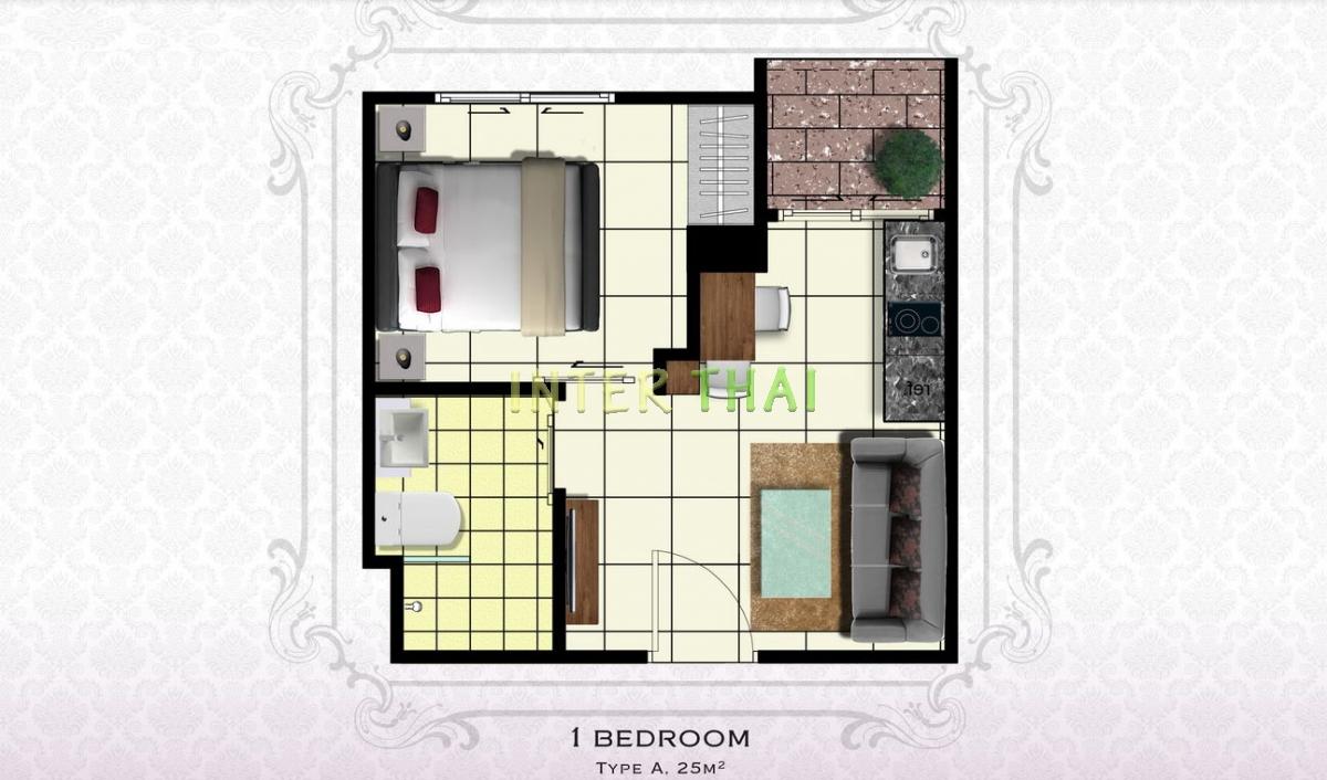 Arcadia Beach Resort - unit plans - 17
