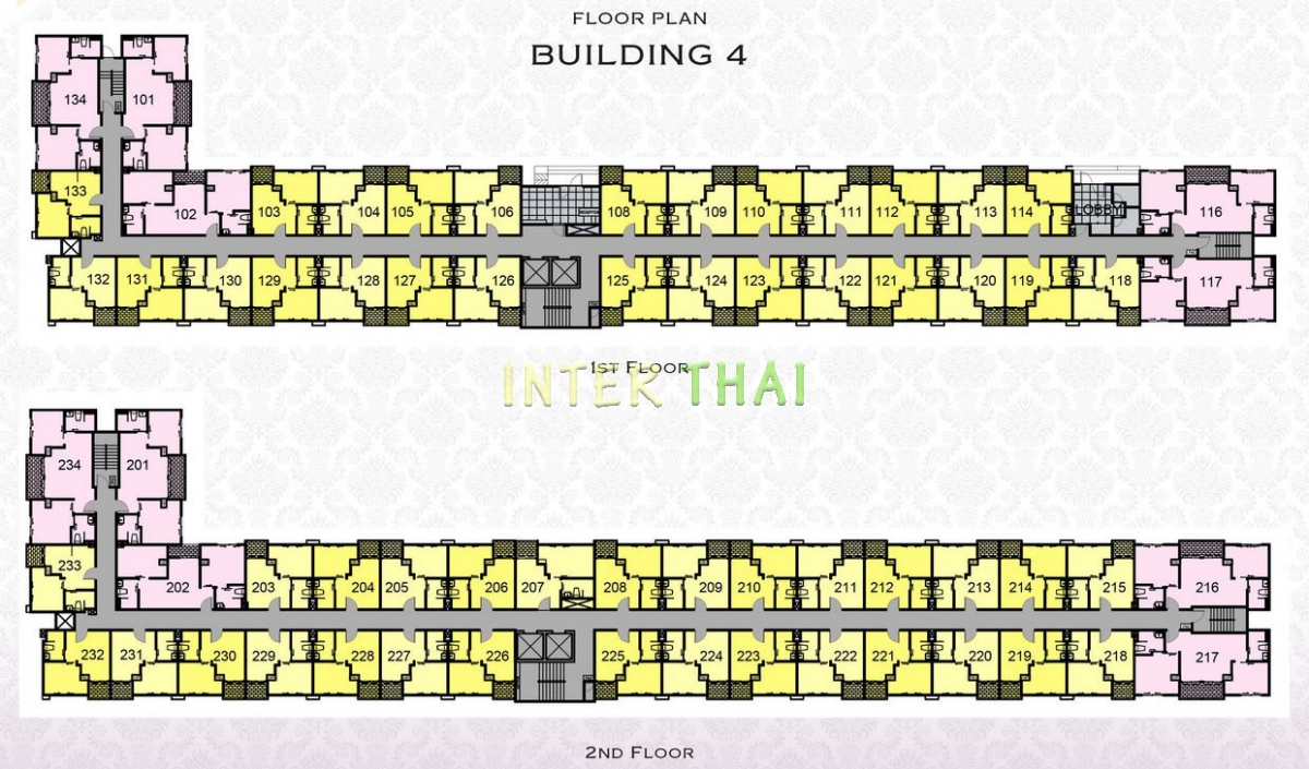 Arcadia Beach Resort - floor plans - building 4 - 17