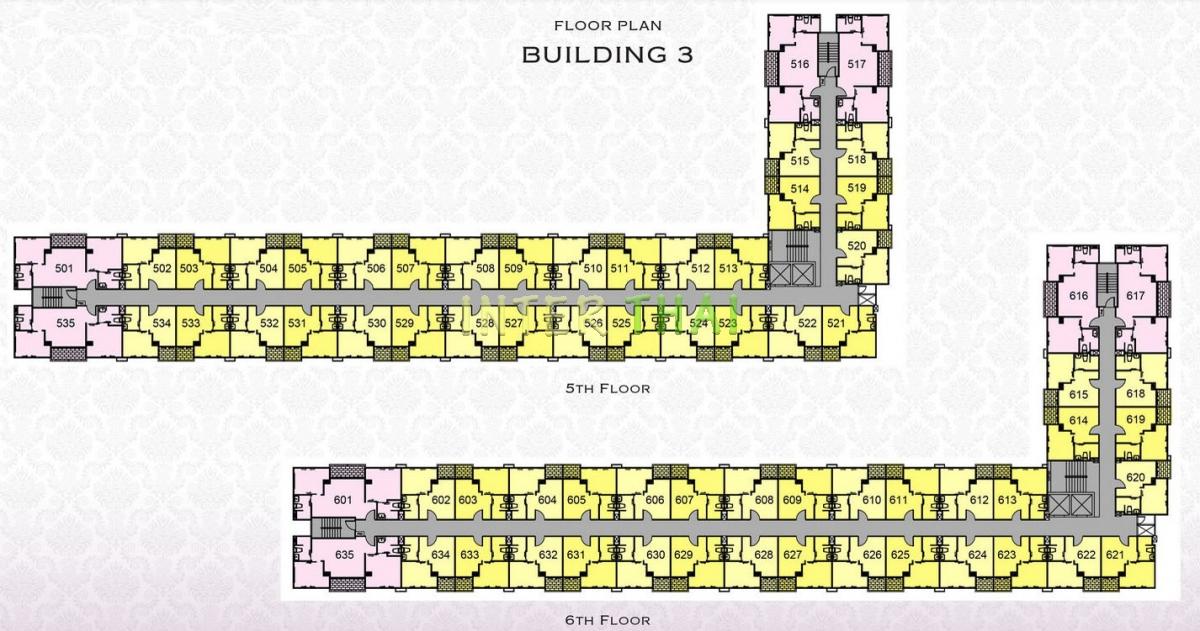 Arcadia Beach Resort - floor plans - building 3 - 17
