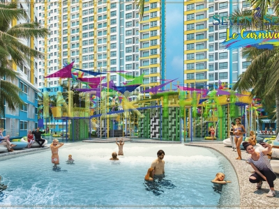 Seven Seas Le Carnival Pattaya~ Condo Jomtien for sale, resale price, hot deals, location map in Thailand