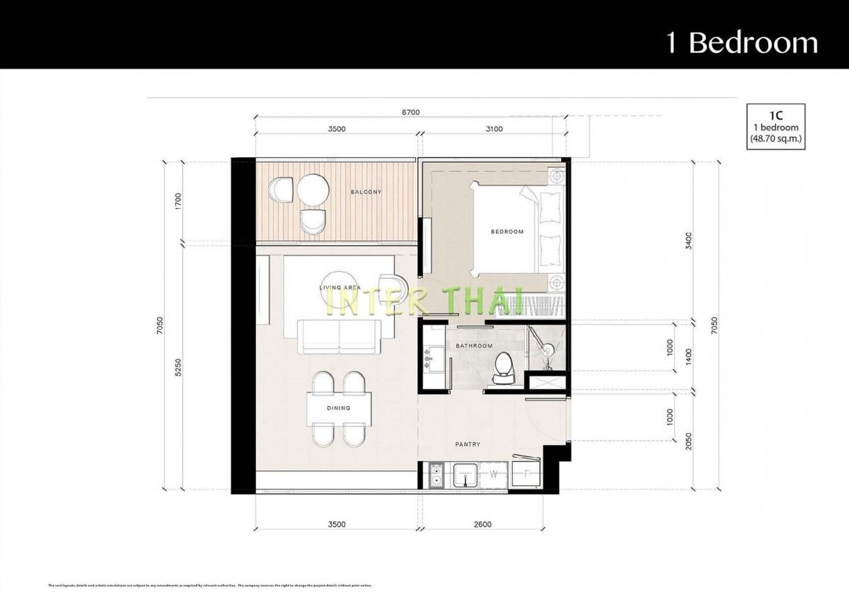 Riviera Jomtien - unit plans - 17