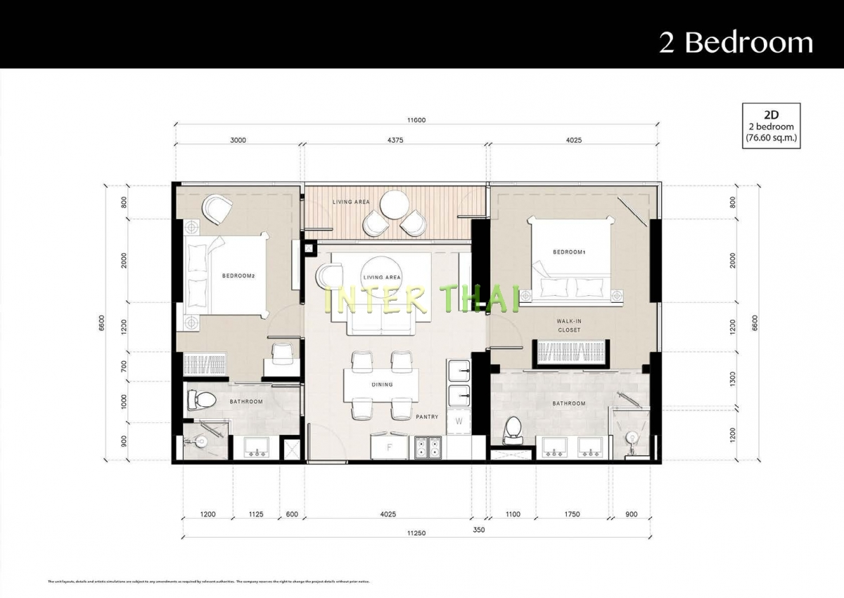 Riviera Jomtien - unit plans - 17