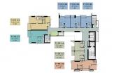 Andromeda Condo Pratamnak - floor plans - 2