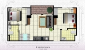 Arcadia Beach Resort - unit plans - 3
